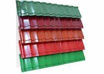 цветовое разнообразие металлочерепицы
