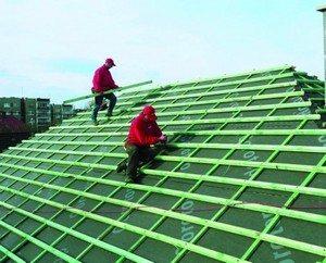 конструкция крыши из металлочерепицы