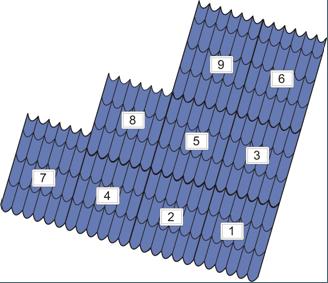 крыша из металлочерепицы инструкция