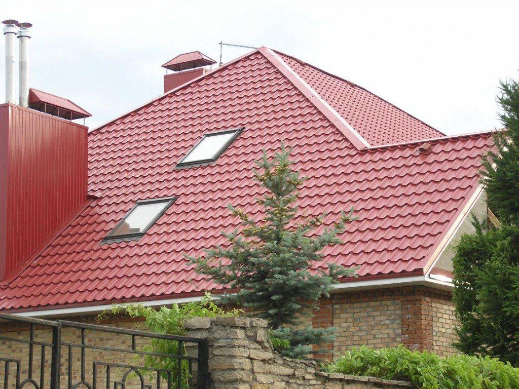 Как перекрыть крышу металлопрофилем