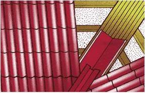 покрытие кровли металлочерепицей