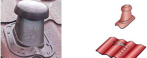 вентиляционная труба после и до установки