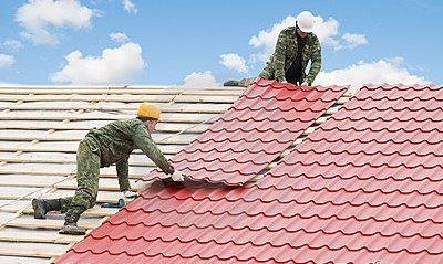 как покрыть металлочерепицей крышу