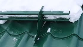 снегозадержатель для металлочерепицы